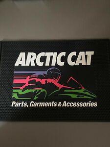 Vintage Arctic Cat NOS counter mat.  Cool colors