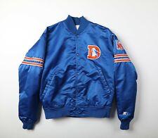 Vintage 80s Starter Pro Line Satin Denver Broncos Jacket Sz Medium