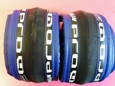 Two - Michelin Pro 4 Race ( Dk. Blue. 700 - 23) tyres  / NOS