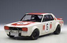 AUTOart 87176 - 1/18 NISSAN SKYLINE GT-R KPGC10 1971 - JAPAN GP 1971 - NEU