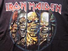 IRON MAIDEN EDDIE EVOLUTION 2012 SHIRT NEW KILLERS PIECE OF MIND TROOPER FINAL F