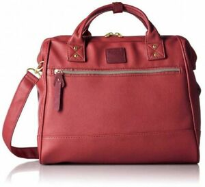 Anello AT-H1022 2way Clasp Shoulder Bag PU Leather 8 Colors Fast Ship Japan EMS