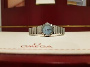 Omega Constellation My Choice 1566.86.00 Blue Dial