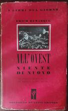 All'ovest niente di nuovo - Erich Remarque - Donatello De Luigi,1945 - A