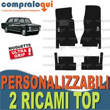 per FIAT RITMO 78-88 TAPPETINI per AUTO SU MISURA in MOQUETTE 2 RICAMI TOP
