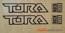 PEGATINA STICKER VINILO bike horquilla Rock Shox Tora