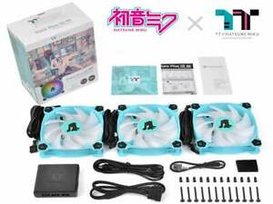 Thermaltake Tsukumo Pure Plus RGB 12 Hatsune Miku Edition from Japan[New]#B00126