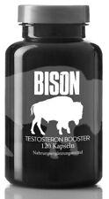 BISON Testo Booster für schnellen Muskelaufbau - extrem Testosteron Booster
