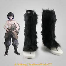 Demon Slayer Inosuke Hashibira Inosuke Cosplay Boots Shoes Custom Made Boot