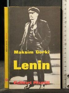 LENIN. Maksim Gorki. Editori riuniti.