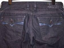 Diesel Indigo, Dark wash Big & Tall Bootcut Jeans for Men