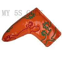 1pc Golf Putter Cover PU Leather Blade Headcover for Taylormade Odyssey Magnetic