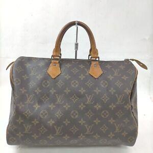 Louis Vuitton Hand Bag Speedy 35 M41524 Browns Monogram 402198