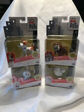 The Secret Life of Pets SERIES 1 Mini Pets Figures LOT OF 4 New Sealed Collect