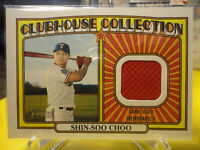 Shin-Soo Choo 2021 Topps Heritage Baseball Clubhouse Collection Relic #CCR-SC