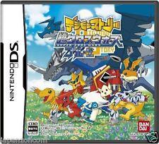 Used DS Digimon Story: Super Xros Wars Blue NINTENDO JAPANESE IMPORT