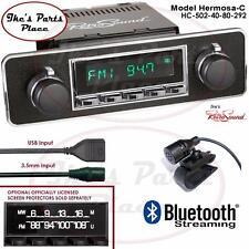 RetroSound Hermosa-C Radio/Bluetooth/USB/Mp3/3.5mm AUX-In 4 ipod Euro Blaupunt