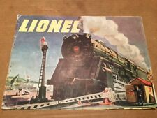 Original 1947 Lionel Railroad Train, Catalog Book Collectible