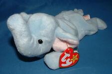 Ty Beanie Baby Peanut - MWMT (Elephant light Blue 1995)