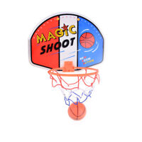 Kids Funny Mini Portable BasketBall Hoop Toy Toilet Desk Basketball Game  FO