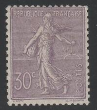 "FRANCE  STAMP TIMBRE N° 133 "" SEMEUSE LIGNEE 30c LILAS 1903 "" NEUF xx TTB  K776"