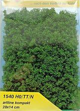 (216,58 €/m²) HEKI 1540 Artline COMPACT, (LETTRE) vert moyen, 28 x 14 cm, NEUF