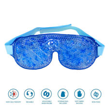 Gel Bead Cooling Eye Mask Hot& Cold Pack  For Relax Relief Eye Care Aid