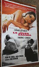 Used - Cartel de Cine  LA JOVEN CASADA  Vintage Movie Film Poster - Usado