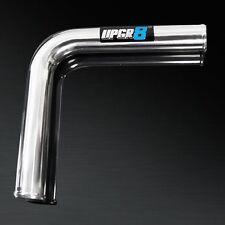 "UPGR8 600MM LONG 2.5"" OD 90 Degree Aluminum Turbo Intercooler Pipe Piping Tubing"