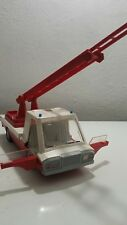 VNTG.TRUCK FIRETRUCK LATVIA LARGE TOY VEHICLE BATT. OPERATED USSR RUSSIA CCCP
