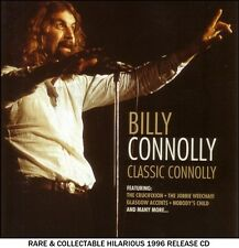 Billy Connolly - The Very Best Classic Greatest Hits Collection RARE Comedy CD