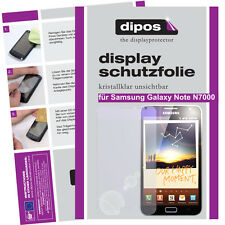 1x Samsung Galaxy Note N7000 Protector de Pantalla transparente