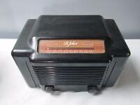 Vintage Trave-ler Model 5015 1948 St John's AM Radio USA Brown Bakelite