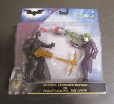 Grapnel Launcher Batman and The Joker 2008 THE DARK KNIGHT 2 Pack Mattel MOC