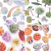 Korean Trees Weather Food Scrapbooking Stickers Decor Sticker DIY Craft Diary -