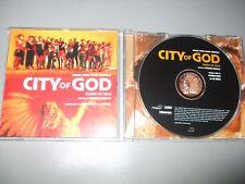 City of God - Original Soundtrack - Cidade de Deus (CD) 14 Tracks - Mint/New