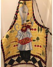 Adult Cotton Twill Apron Handmade From an Apron Panel
