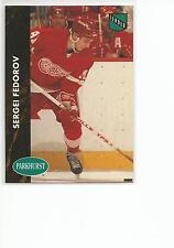 SERGEI FEDOROV 1991-92 Parkhurst Hockey card #PHC5 Detroit Red Wings NR MT
