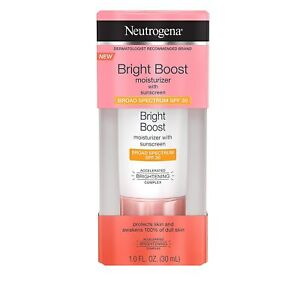Neutrogena Bright Boost Moisturizer with Sunscreen SPF 30 Brightening Complex