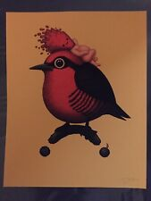 "Mike Mitchell Yellow Fronted Woodpecker Yellow Variant 8"" x 10"" LE75 Art Print"