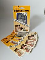 5 Packs VTG Wallet Frames Photo Card U-Seal-it  U Seal It Wallet Purse Pictures