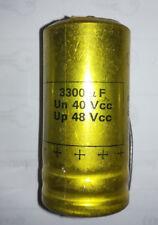 condensateur RELSIC 3300UF 40V