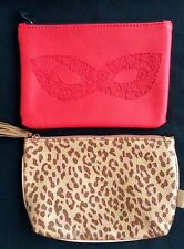 Pair Of Small Make-up Bags. New! Set Of 2. Free Shipping!