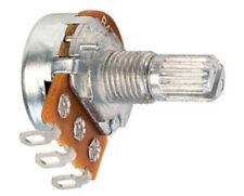 Taiwan Alpha 16mm RV16AF Pot Lin/Log Solder Lug Potentiometer 17mm Splined Audio