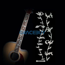 Tree of Life Guitar Inlay Sticker Fretboard Marker Fret Decal Pearl White