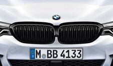 Original BMW M PERFORMANCE Ziergitter Nieren 5er G30 schwarz 2430993 + 2430994
