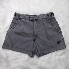 Nike Challenge Court 90s Acid Wash Gray Denim Tennis Shorts Size 30 Andre Agassi