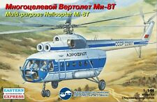 Eastern Express 1/144 Model Kit 14505 Mil Mi-8T Aeroflot