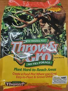 Harvest Throw & Gro NoTill Forage Food Plot Seed Clover, Brassica, & More