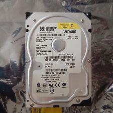WD400BB-75FRA0, DCM ESCHCVJAH, Western Digital 40GB IDE 3.5 HDD, 100% Tested